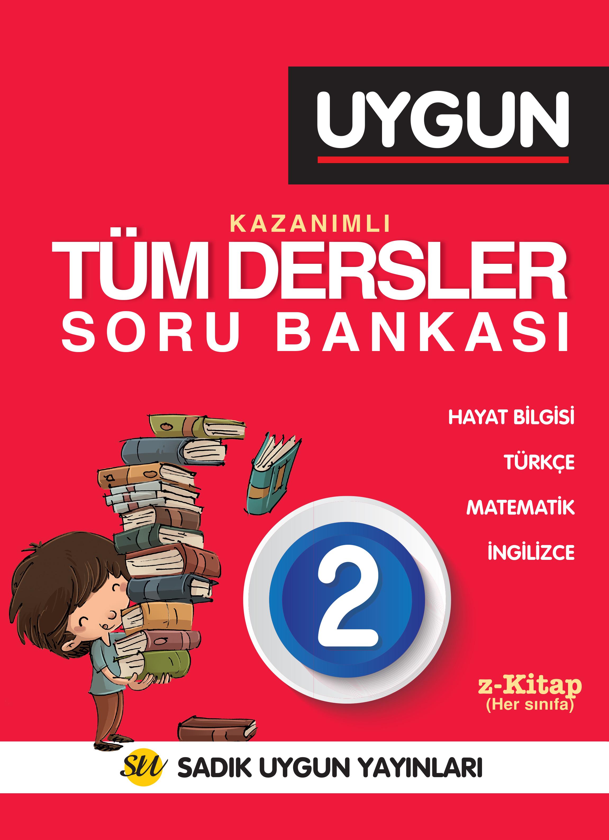 UYGUN – Tüm Dersler Soru Bankası 2. Sınıf