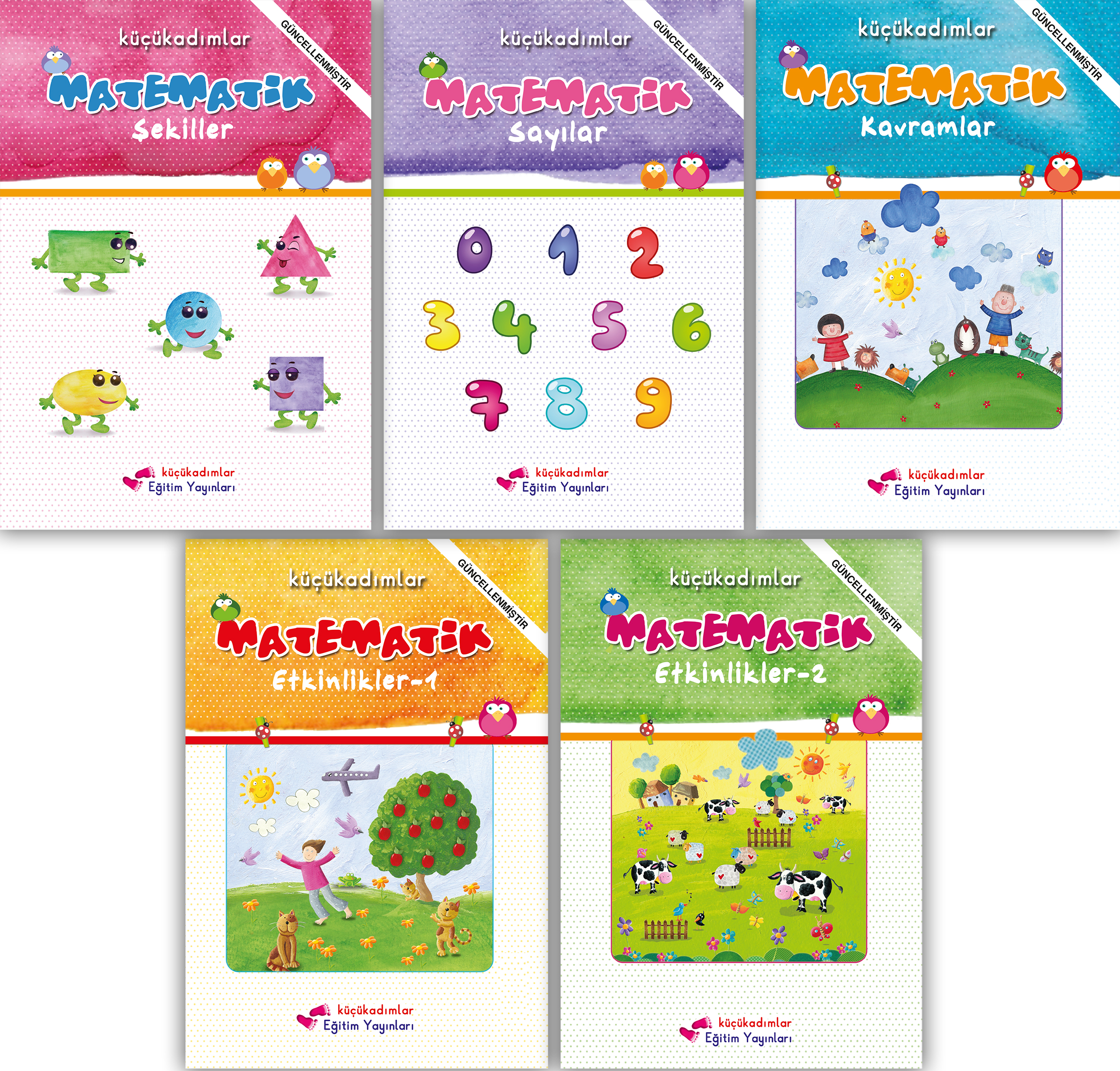 Matematik Seti 5'li – Küçükadımlar