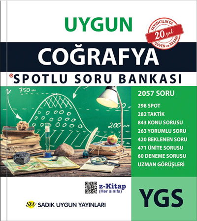 Uygun – YGS Coğrafya Spotlu Soru Bankası Kitabı