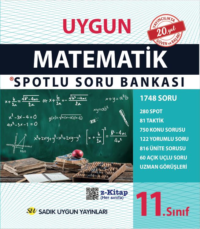 Uygun – Matematik Spotlu Soru Bankası Kitabı – 11. Sınıf