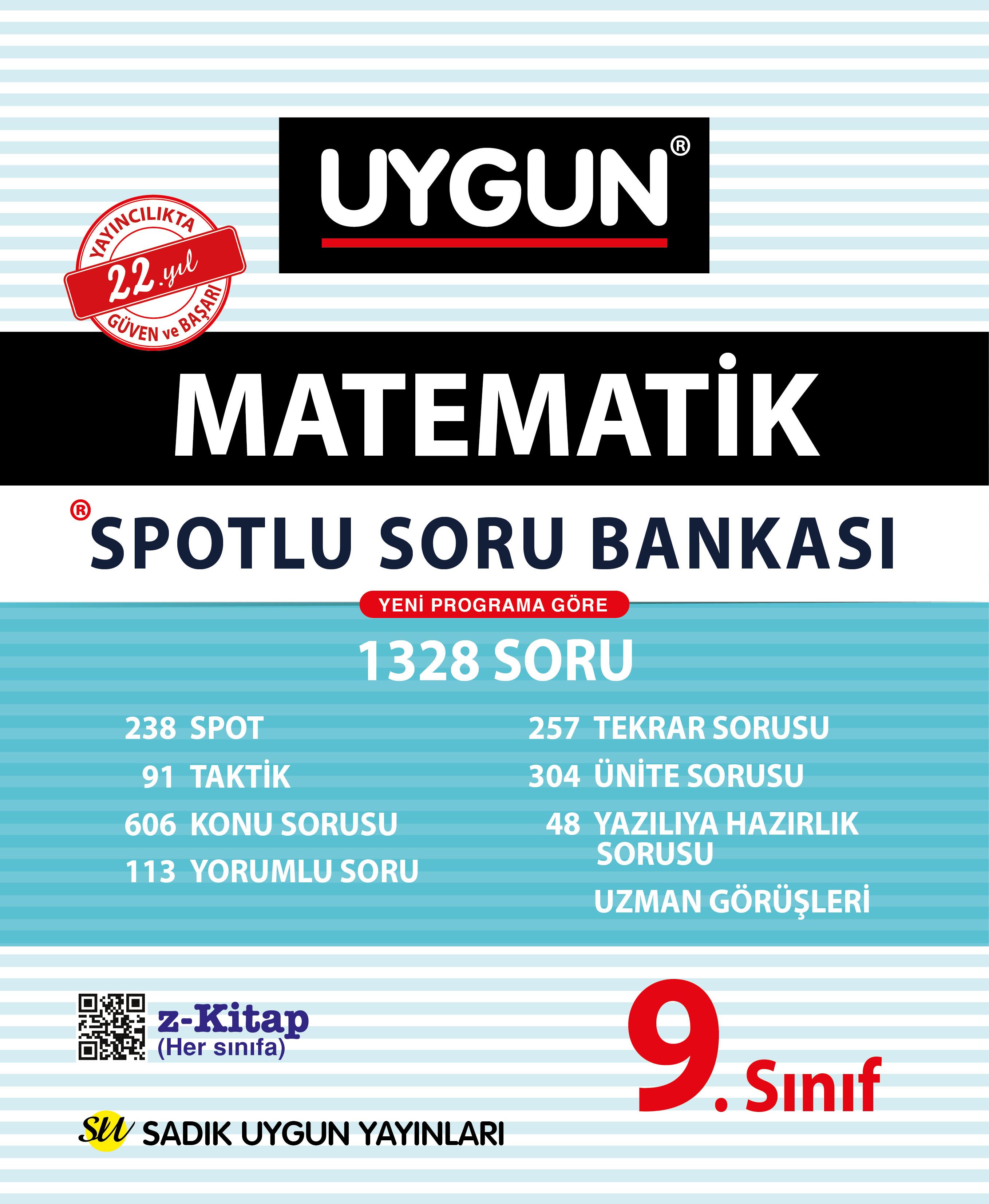 9.Sınıf Spotlu Matematik