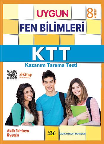 KTT Fen Bilimleri (Kazanım Tarama Testi) Kitabı 8. Sınıf