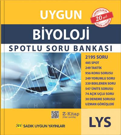 Uygun – LYS Biyoloji Spotlu Soru Bankası Kitabı