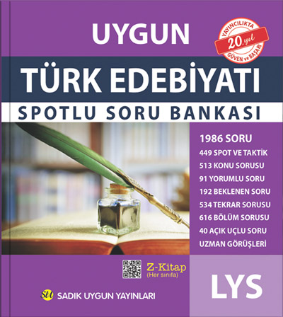 Uygun – LYS Türk Edebiyatı Spotlu Soru Bankası