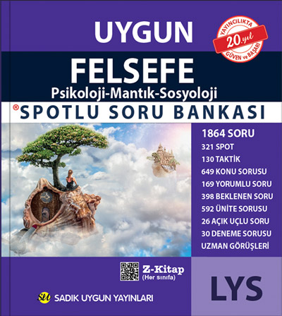 Uygun – LYS Felsefe Grubu Spotlu Soru Bankası Kitabı