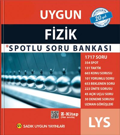 Uygun – LYS Fizik Spotlu Soru Bankası Kitabı