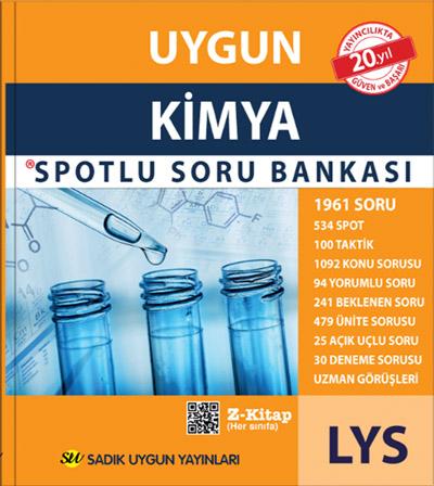 Uygun LYS – Kimya Spotlu Soru Bankası
