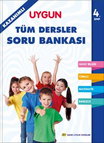 Tüm Dersler Kazanımlı Soru Bankası 4. Sınıf