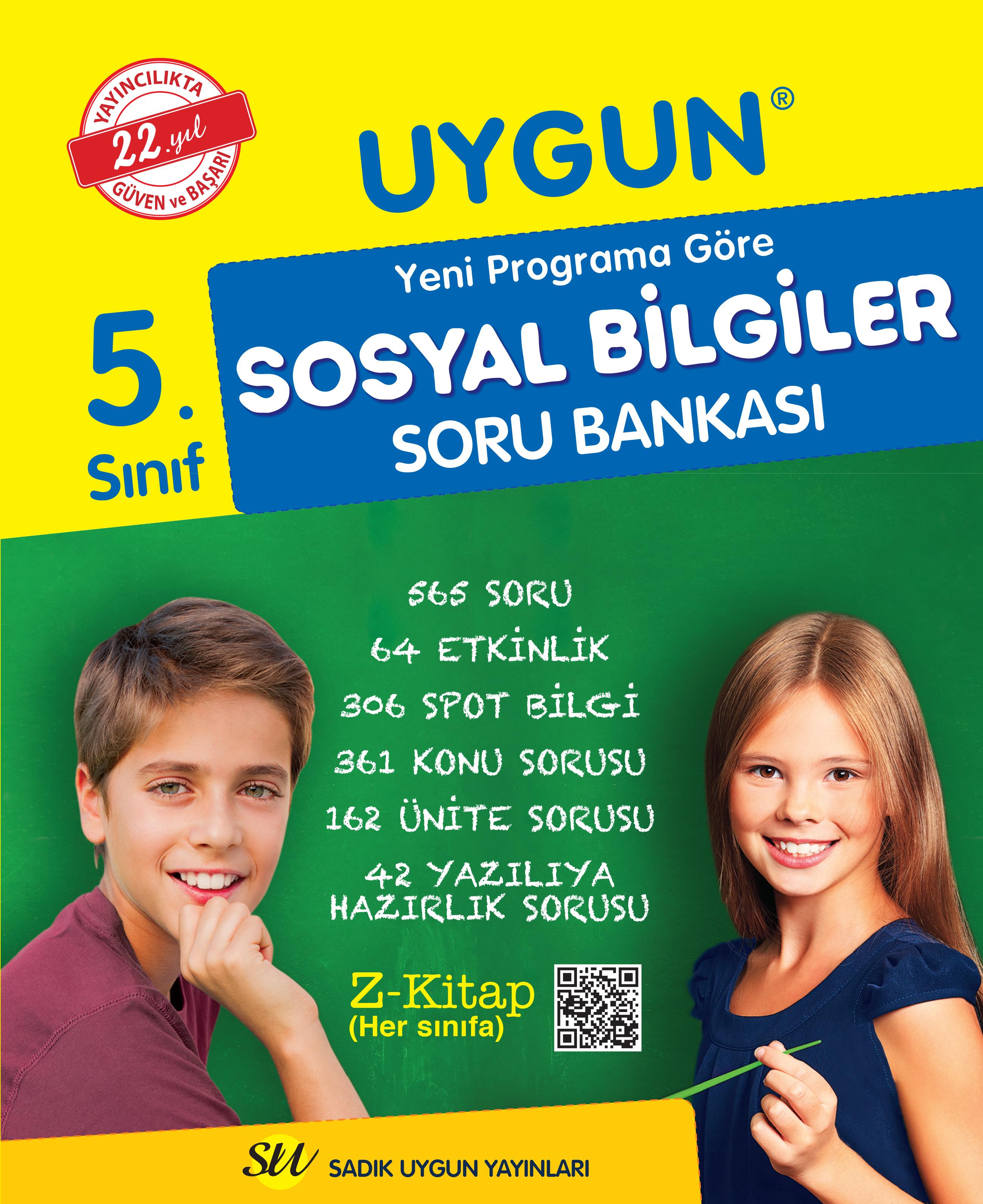 Sosyal Bilgiler Soru Bankası 5. Sınıf