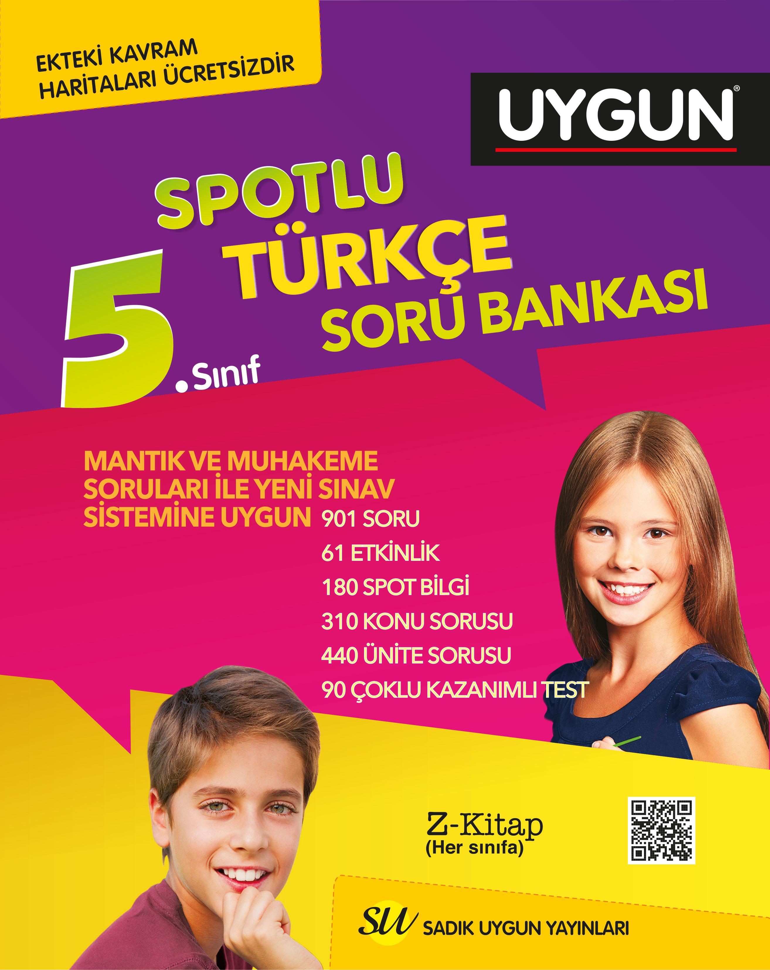 Türkçe Spotlu Soru Bankası 5. Sınıf