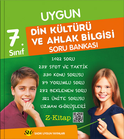 Din Kültürü ve Ahlâk Bilgisi Soru Bankası  7. Sınıf