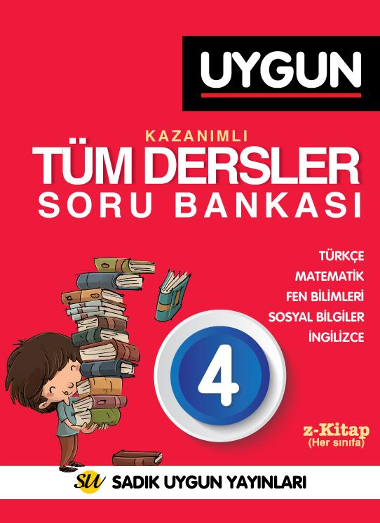 UYGUN – Kazanımlı Tüm Dersler Soru Bankası 4. Sınıf