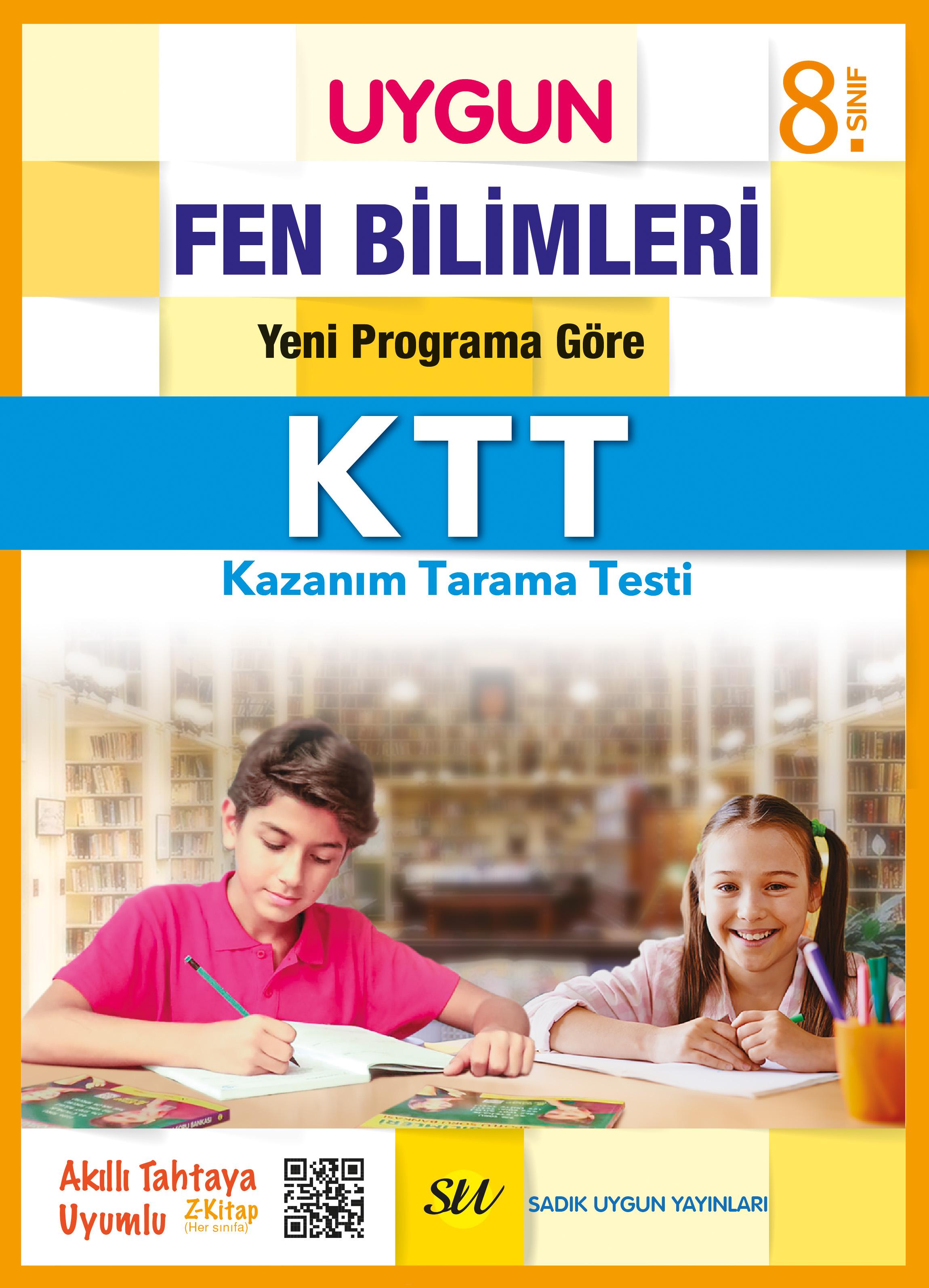 UYGUN – Kazanım Tarama Testleri (KTT) – Fen Bilimleri 8. Sınıf