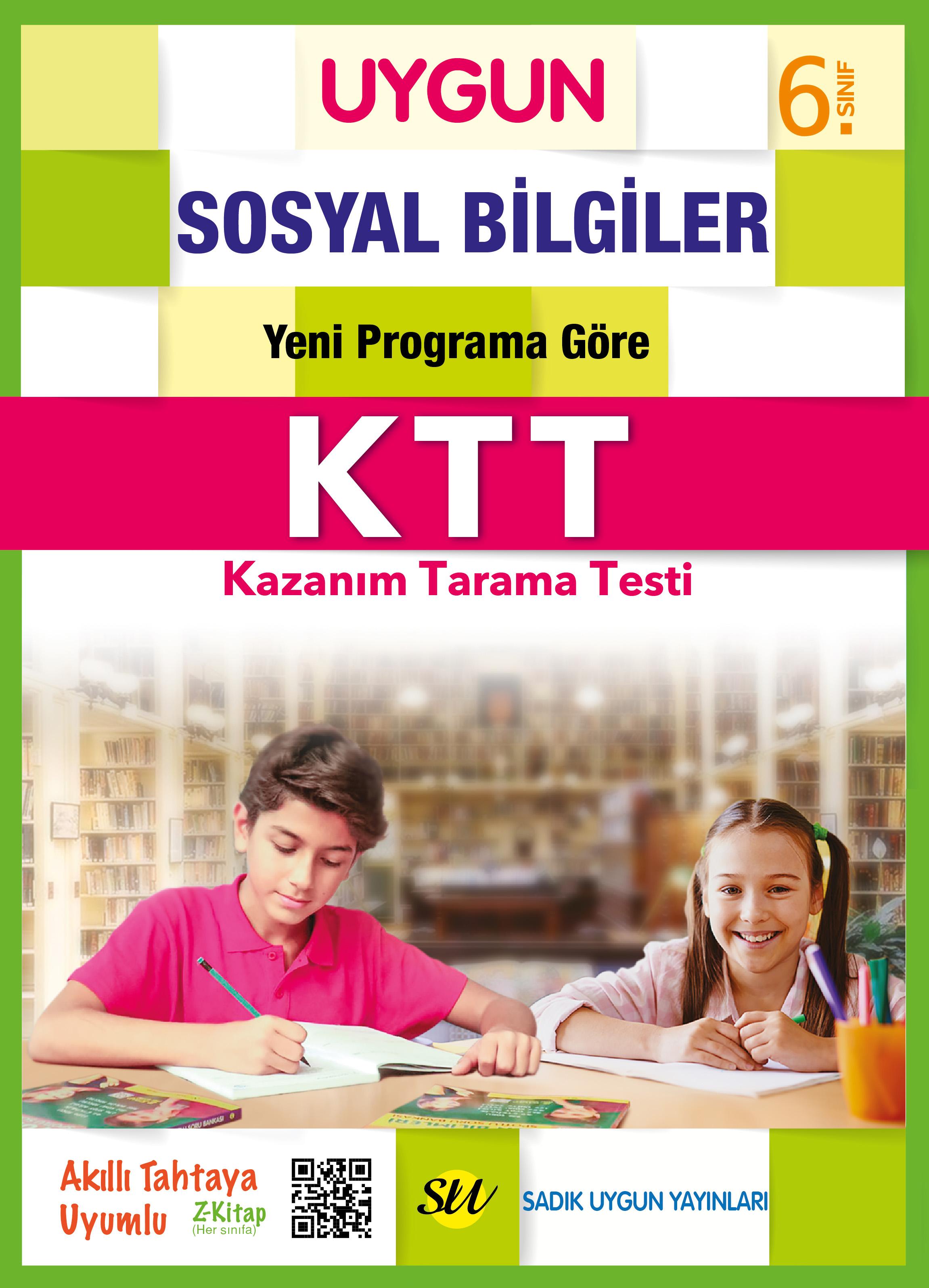 UYGUN – Kazanım Tarama Testi (KTT) – Sosyal Bilgiler 6. Sınıf
