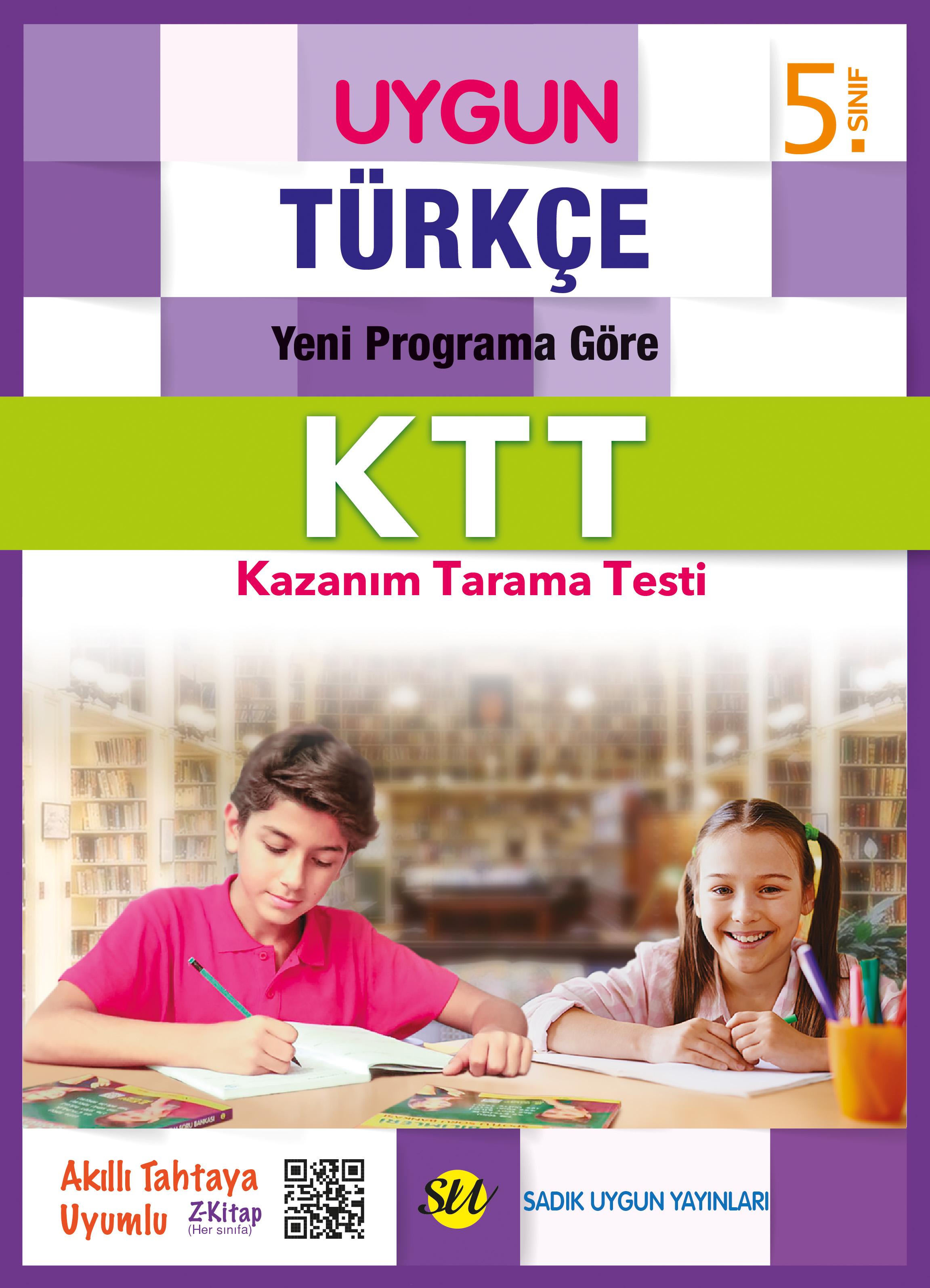 Türkçe Kazanım Tarama Testi 5. Sınıf