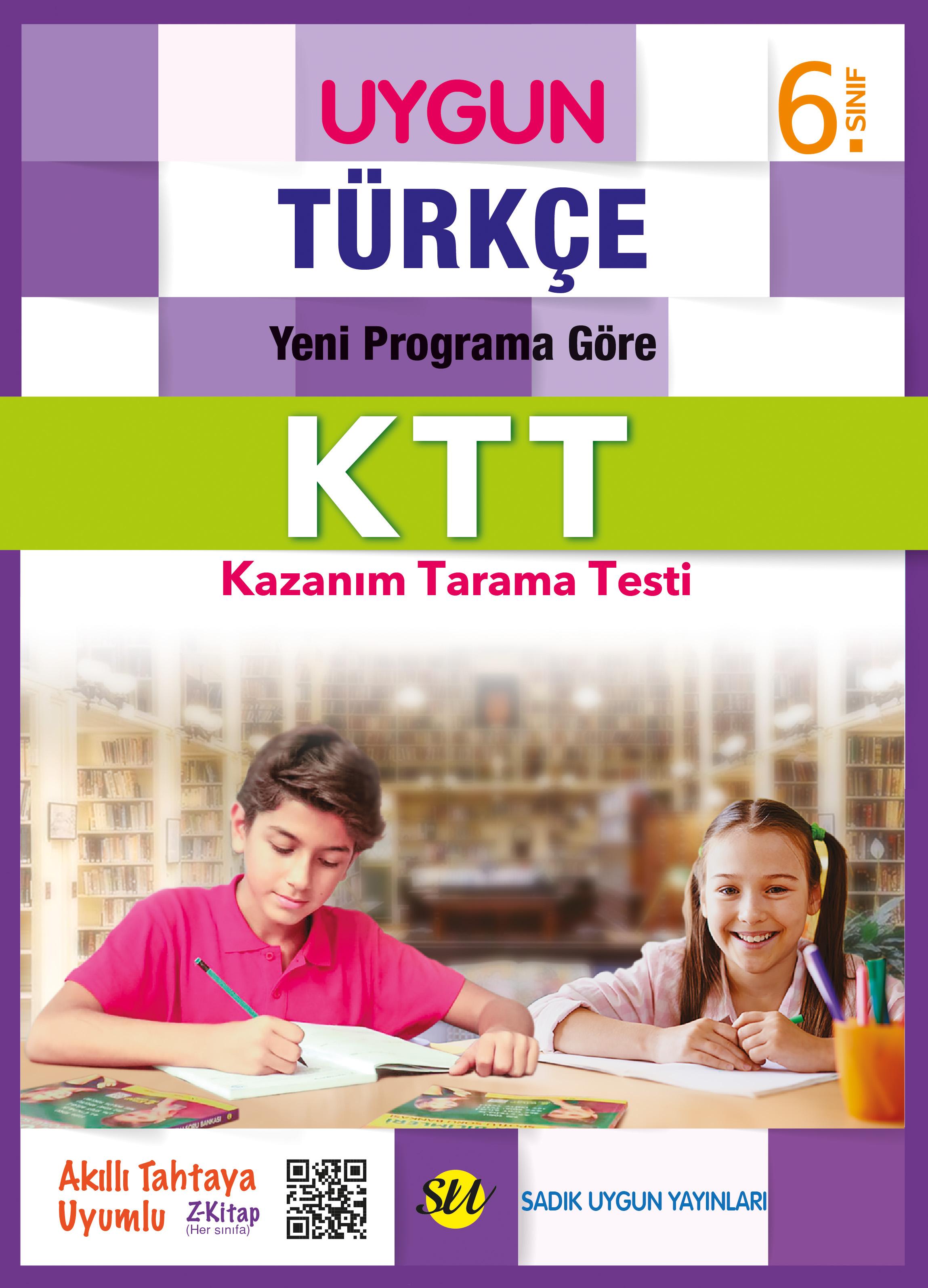 UYGUN – Kazanım Tarama Testi (KTT) – Türkçe 6. Sınıf