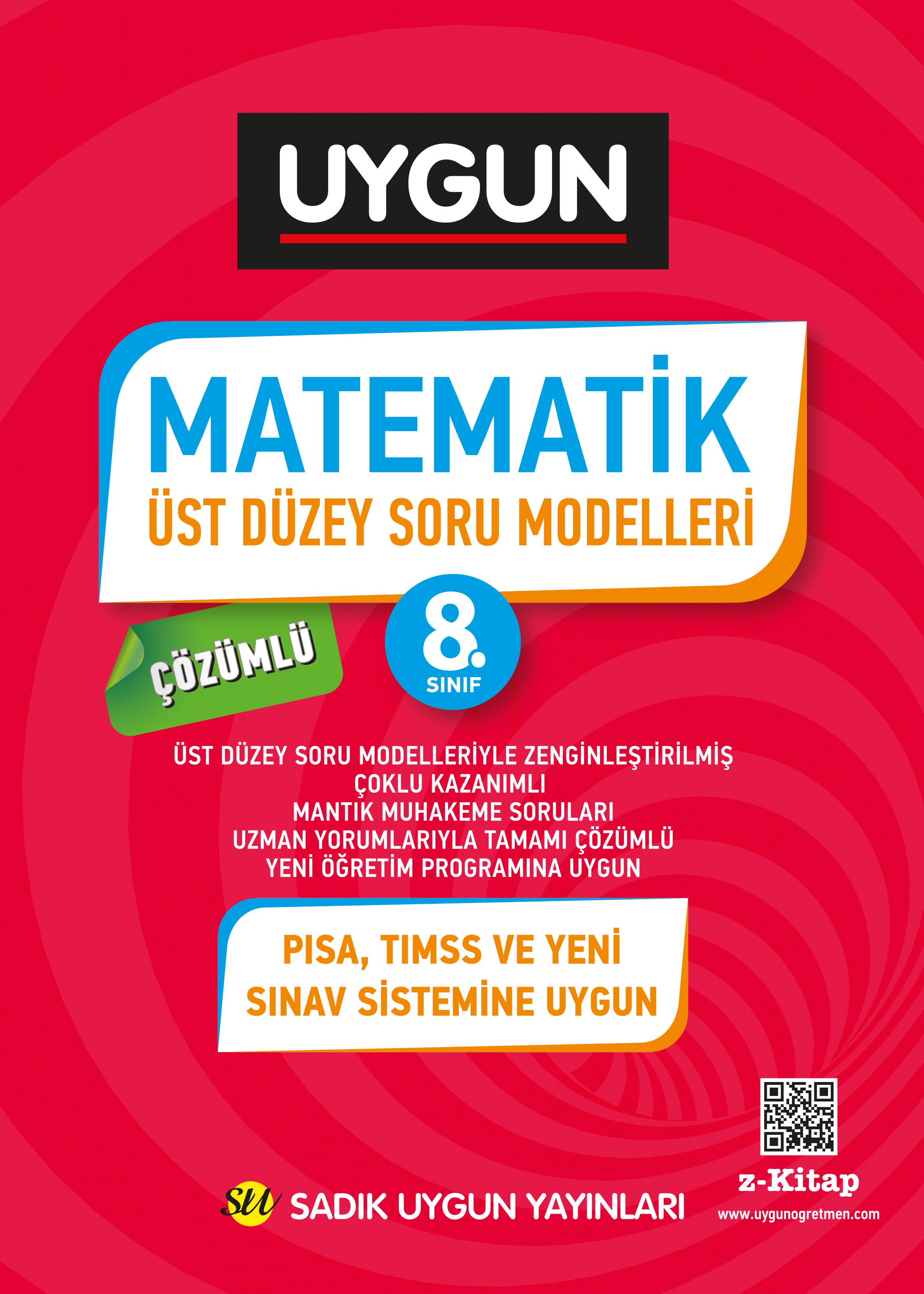 UYGUN – Üst Düzey Soru Modelleri – Matematik 8. Sınıf