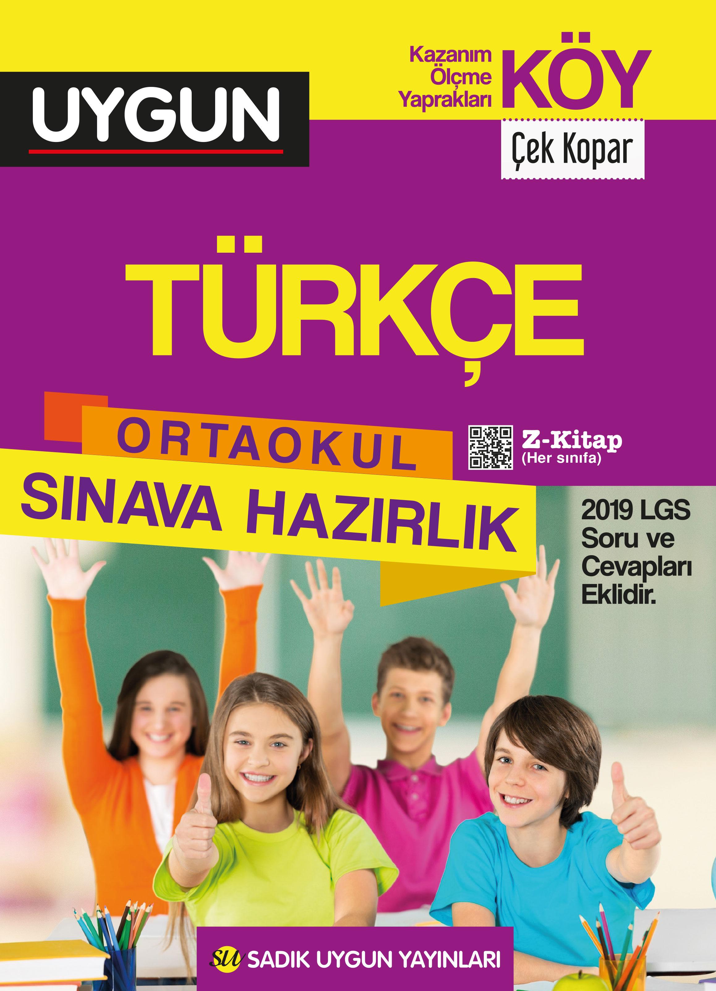 UYGUN – KÖY – Türkçe 8. Sınıf