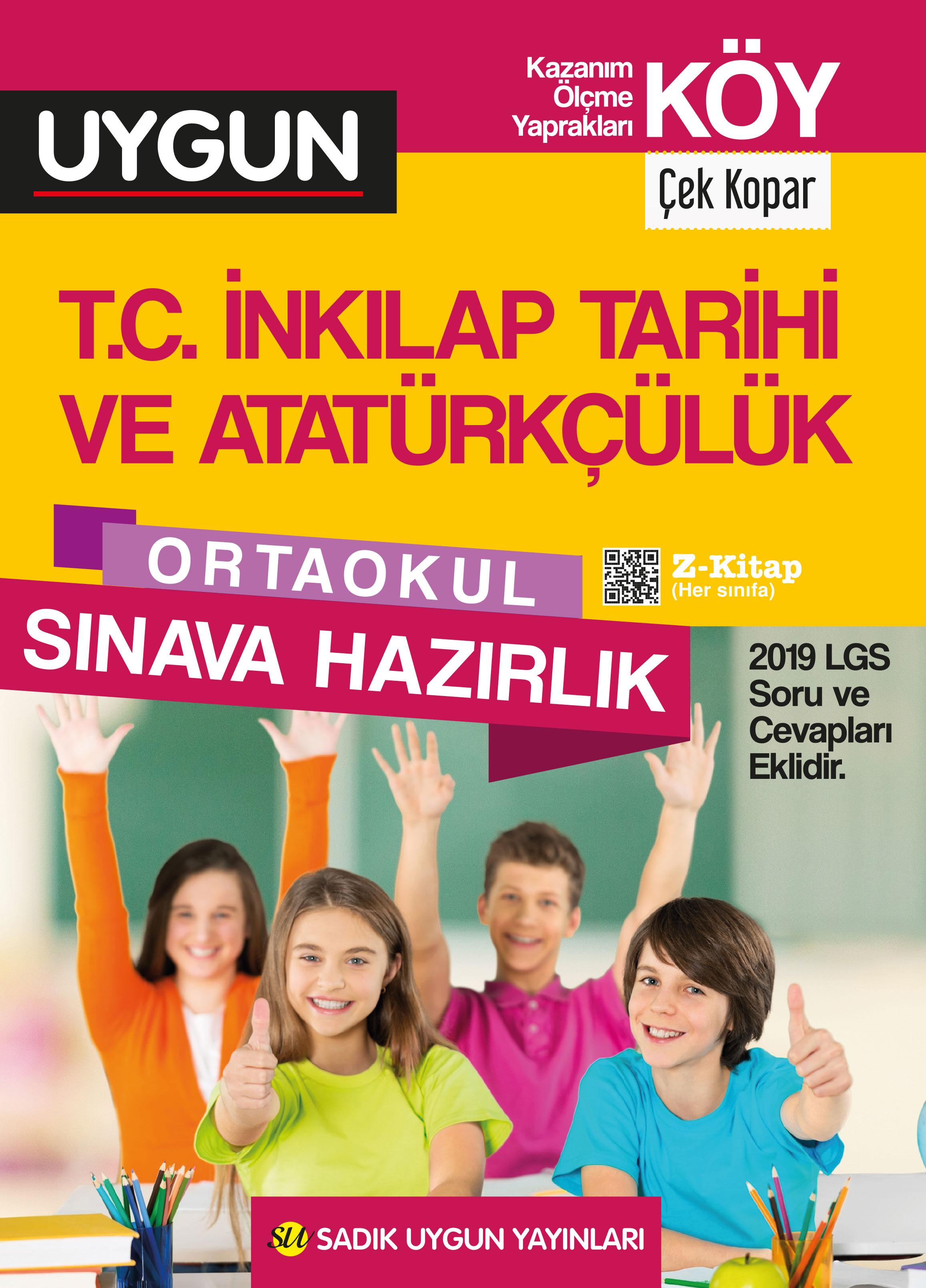 UYGUN – KÖY – İnkılap Tarihi ve Atatürkçülük 8. Sınıf