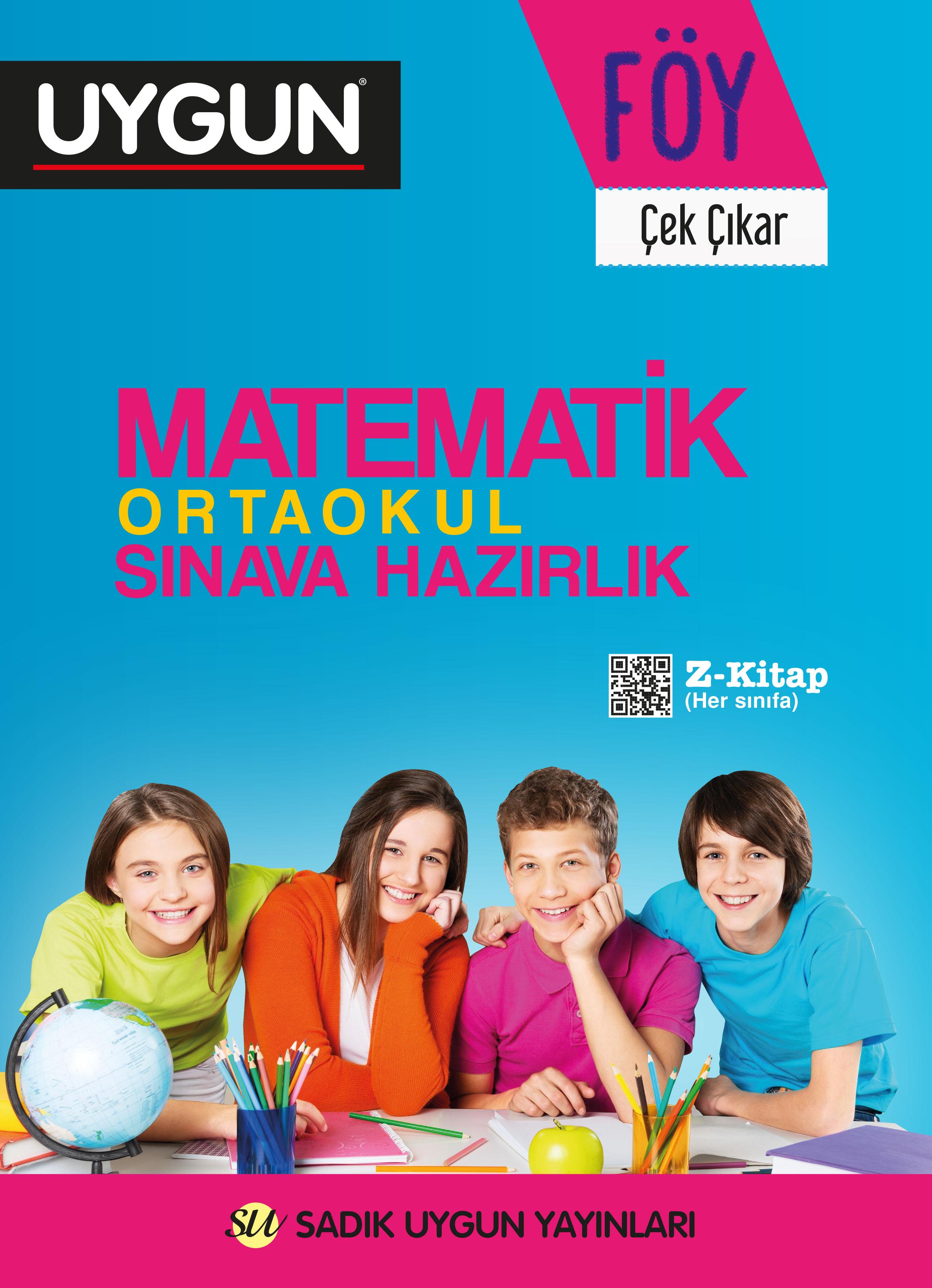 UYGUN – FÖY –  Ortaokul Sınava Hazırlık – Matematik 8. Sınıf