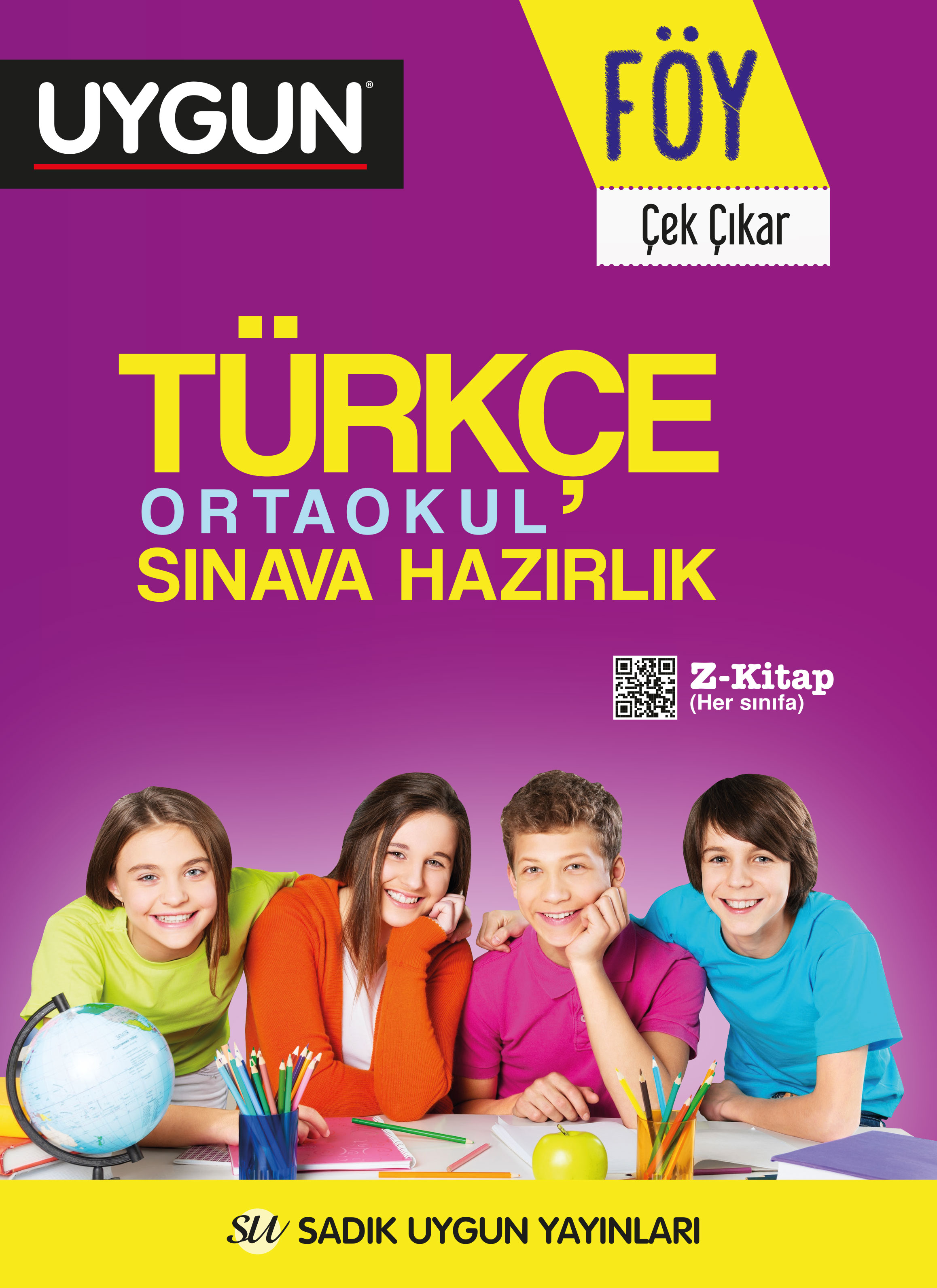 UYGUN – FÖY – Ortaokul Sınava Hazırlık – Türkçe 8. Sınıf
