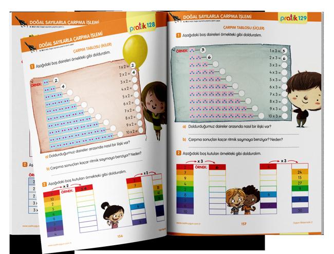 Uygun - Pratik Matematik 2. Sınıf - Sadık Uygun Yayınları -