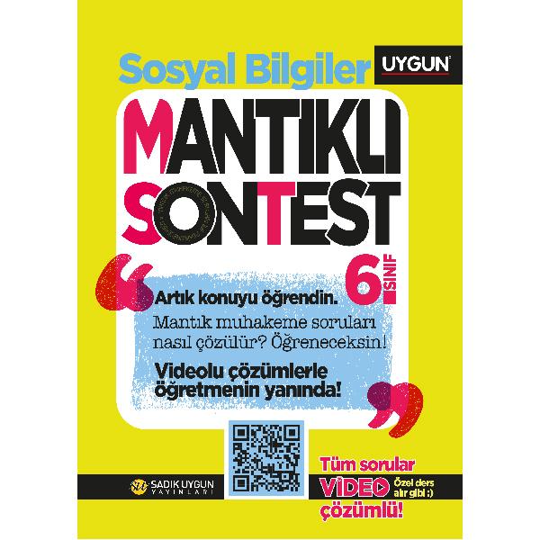 UYGUN – Mantıklı Son Test – Sosyal Bilgiler  6. Sınıf