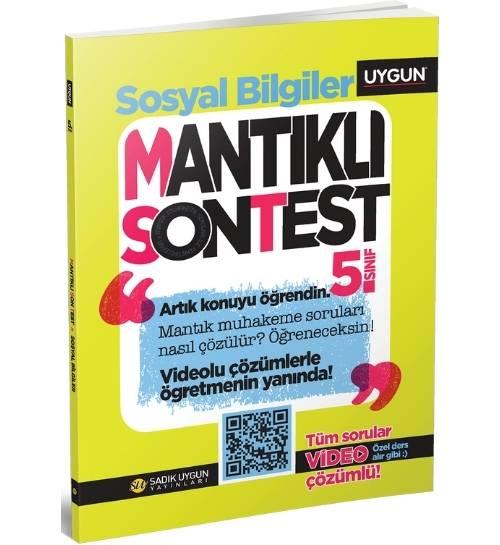 UYGUN – Mantıklı Son Test – Sosyal Bilgiler 5. Sınıf