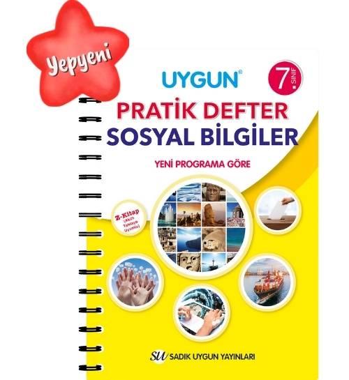 UYGUN – Pratik Defter – Sosyal Bilgiler 7. Sınıf