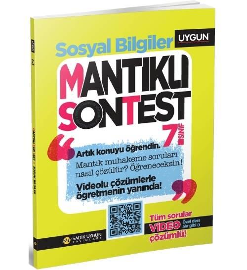 UYGUN – Mantıklı Son Test – Sosyal Bilgiler  7. Sınıf