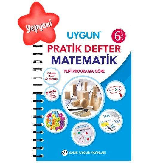 UYGUN – Pratik Defter – Matematik 6. Sınıf