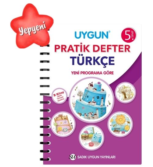 UYGUN – Pratik Defter – Türkçe 5. Sınıf
