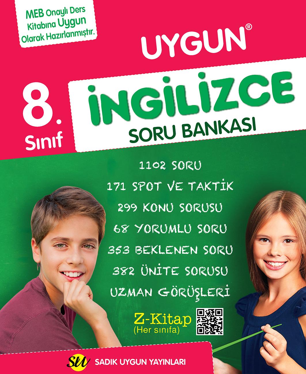 İngilizce Soru Bankası 8. Sınıf